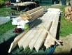Přístřešek na dřevo 5 x 4 m.