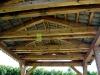 Sedlový altán 4 x 3 m s krytinou BRAMAC.